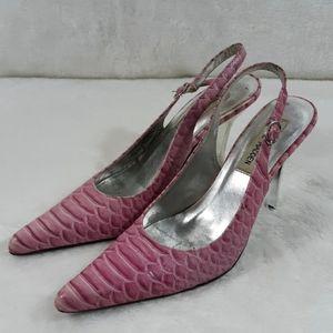 ⬇️$18 Steve Madden pink Tornadoe womens 6.5 B